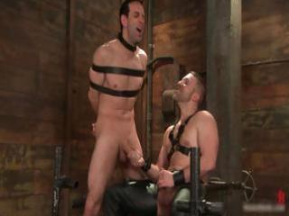 jason dirk in very extreme gay bondage part3