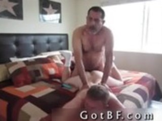 bearded daddy copulates his paramour in the