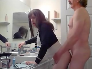 mustache dad fucks a crossdress