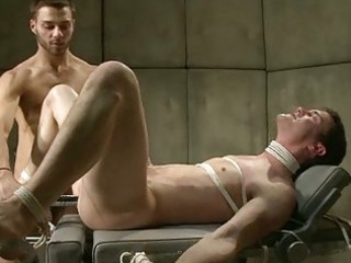 sinful young gay got his ball tortured